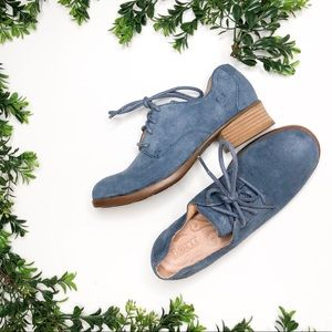 Born | Oxford Suede Lace Up Shoes